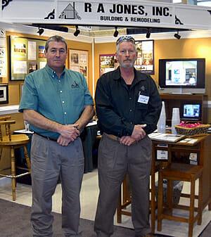 Robert and Davida at Hampton Roads Home Show