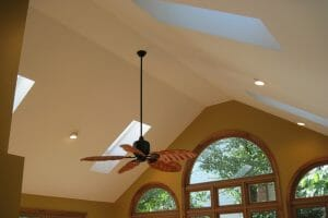 Light up your great room for Velux Skylights