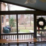 Screened porch Yorktown