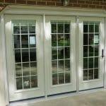 Custom sized patio door