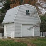 Detached garage with storage