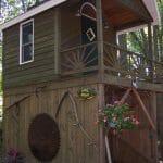Build a unique tree house